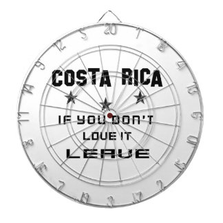 Costa Rica If you don't love it, Leave Dartboards