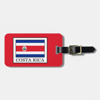 Costa Rica Luggage Tag