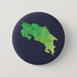 Costa Rica Map 6 Cm Round Badge