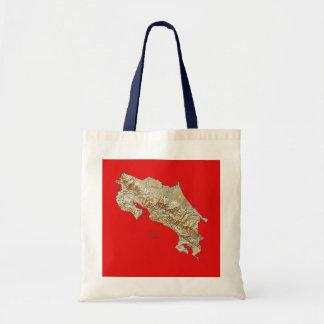 Costa Rica Map Bag