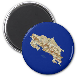 Costa Rica Map Magnet
