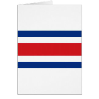 Costa Rica National Flag Greeting Cards