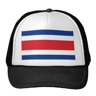 Costa Rica National Flag Trucker Hats