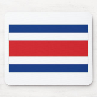 Costa Rica National Flag Mousepad