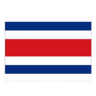 Costa Rica National Flag Postcard