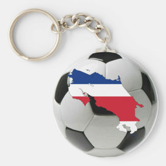 Costa Rica national team Basic Round Button Key Ring