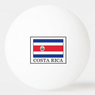 Costa Rica Ping Pong Ball