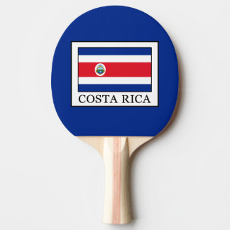 Costa Rica Ping Pong Paddle