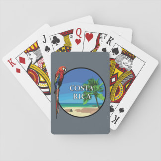 Costa Rica - Playing Cards, Standard Index faces Playing Cards