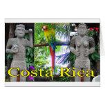 Costa Rica Pre-Columbian Parrot Greeting Card