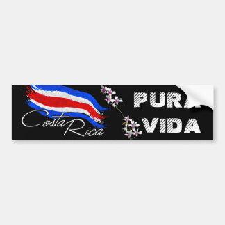 Costa Rica Pura Vida! Bumper Sticker