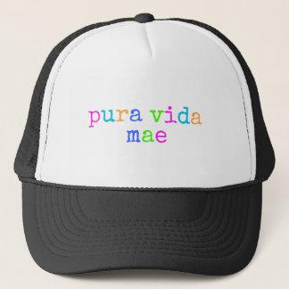 Costa Rica Pura Vida Mae Trucker Hat