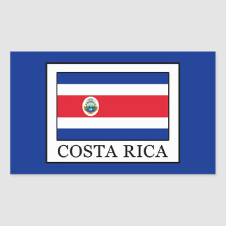 Costa Rica Rectangular Sticker
