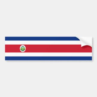 Costa Rica/Rican Flag Bumper Sticker
