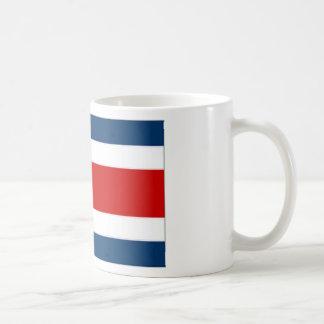 Costa Rica State Flag Coffee Mugs