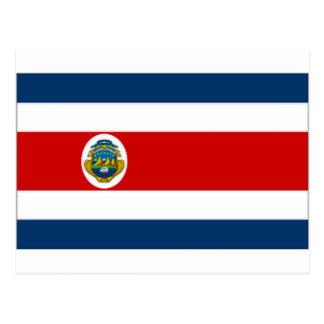 Costa Rica State Flag Postcard