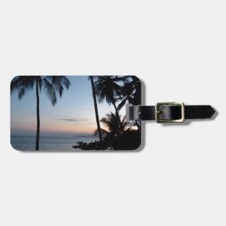 Costa Rica Sunrise Luggage Tag