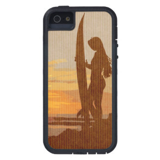 Costa Rica Surfer Girl iPhone 5 Case