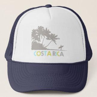 Costa Rica Surfers Tropical Beach Souvenir Trucker Hat