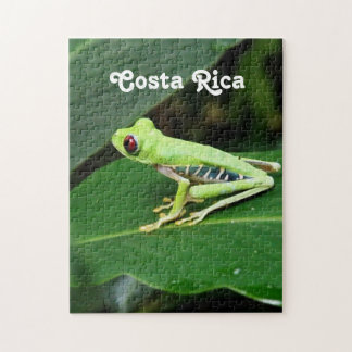 Costa Rica Tree Frog Jigsaw Puzzle