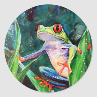 Costa Rica Tree Frog Stickers