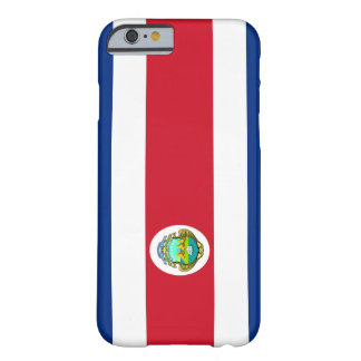 Costa Rican Flag iPhone 6 case Barely There iPhone 6 Case