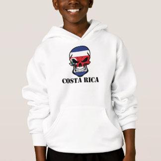 Costa Rican Flag Skull Costa Rica