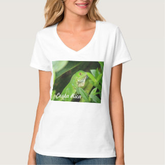 Costa Rican Lizard Tee Shirts