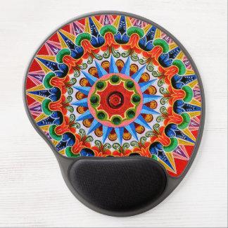Costa Rican Oxcartwheel Art Gel Mousepad