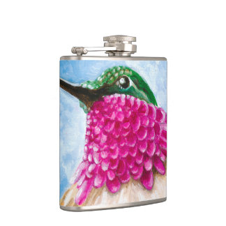 Costa's Hummingbird Hip Flask