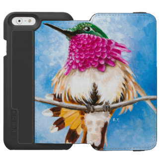 Costa's Hummingbird Incipio Watson™ iPhone 6 Wallet Case