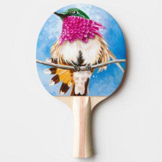 Costa's Hummingbird Ping Pong Paddle