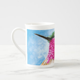 Costa's Hummingbird Tea Cup