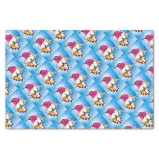 Costa's Hummingbird Tissue Paper