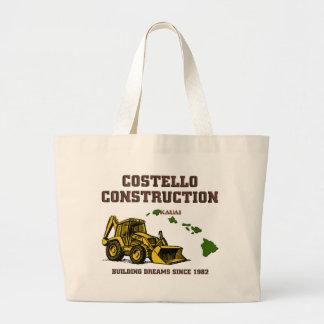Costello Construction Kauai Jumbo Tote Bag