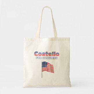 Costello for Congress Patriotic American Flag Tote Bags