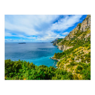Costiera amalfitana, Italy postcard