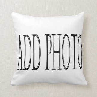 Costume add your own photo pillow cushion