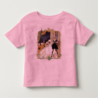 Costume Ball Vintage Style Art Design Toddler T-Shirt