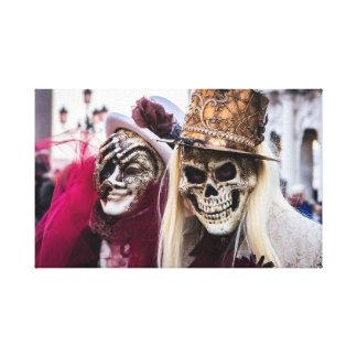 Costume carnival canvas print