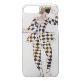 Costume design for Harlequin, from Sleeping Beauty iPhone 7 Case