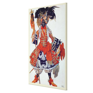 Costume design for The Queen's Guard, from Sleepin Stretched Canvas Prints