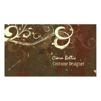 Costume Designer ~ Chocolate swirls Pack Of Standard Business Cards