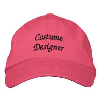 Costume Designer Embroidered Baseball Cap