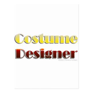 Costume Designer (Text Only) Postcard