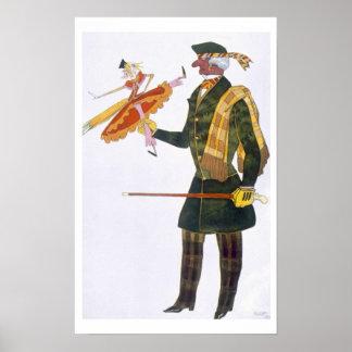 Costume for the Englishman from La Boutique Fanta Poster