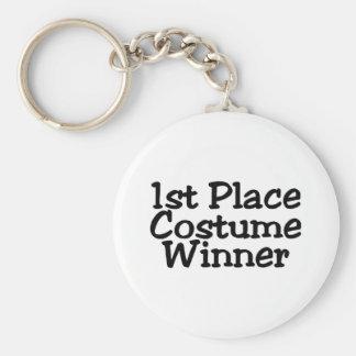 Costume Winner Basic Round Button Key Ring