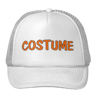 Costume Word Art Cap