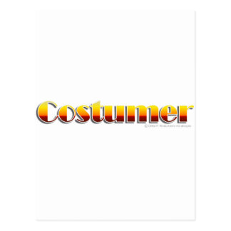 Costumer (Text Only) Postcards