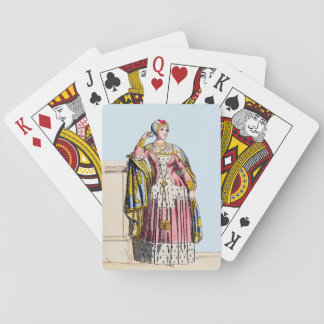 ~ COSTUMES ~A Lady of Rank~ Edward 3rd ~ 1350s Playing Cards